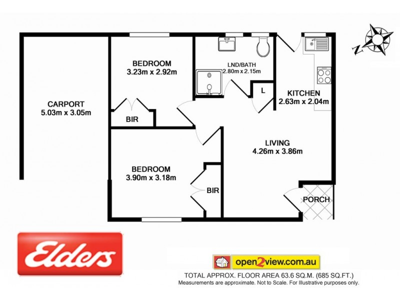 6/5 – 7 Matthew Parade, Batehaven NSW 2536 Floorplan