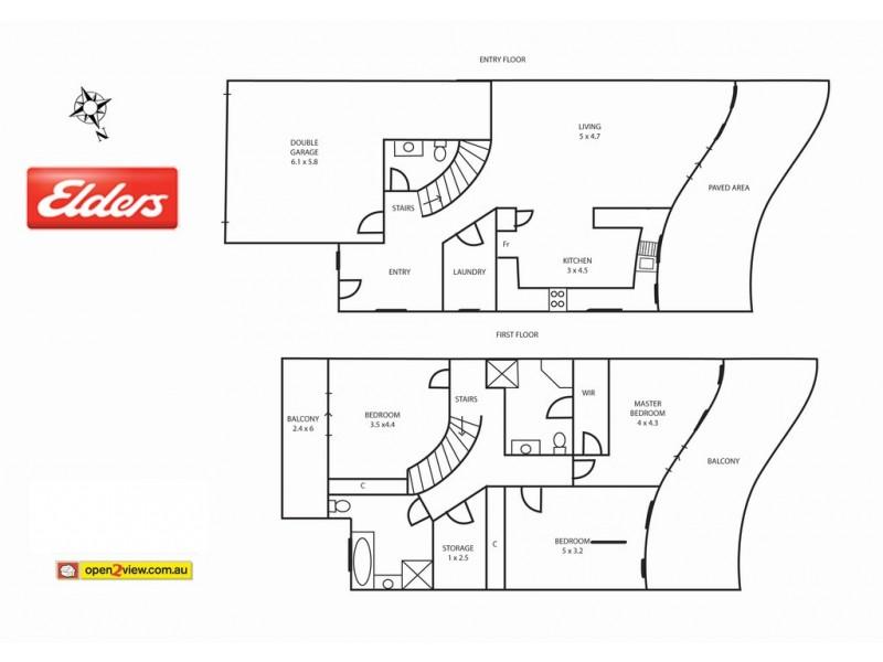 13d High Street, Batemans Bay NSW 2536 Floorplan