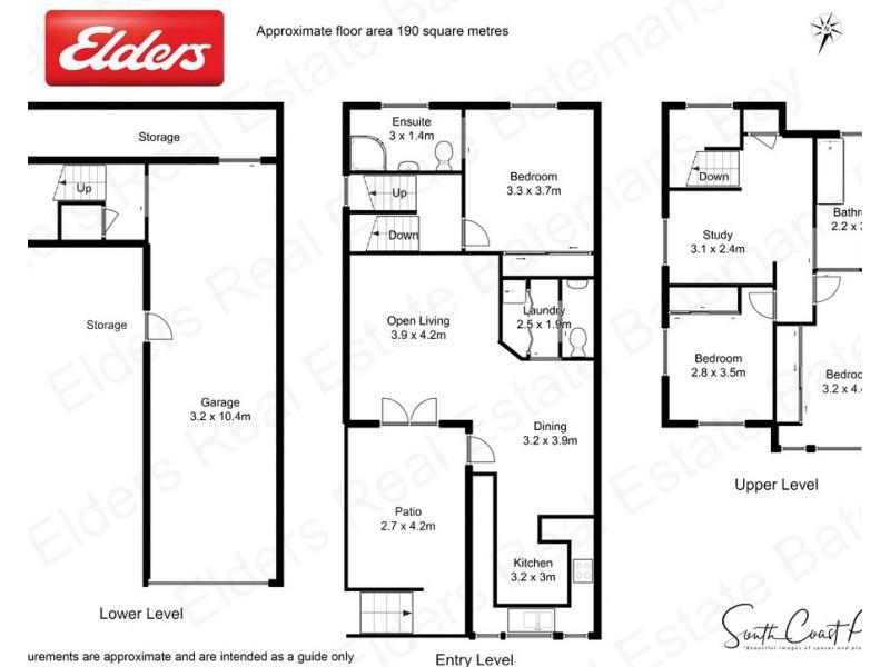 1/34 High Street, Batemans Bay NSW 2536 Floorplan