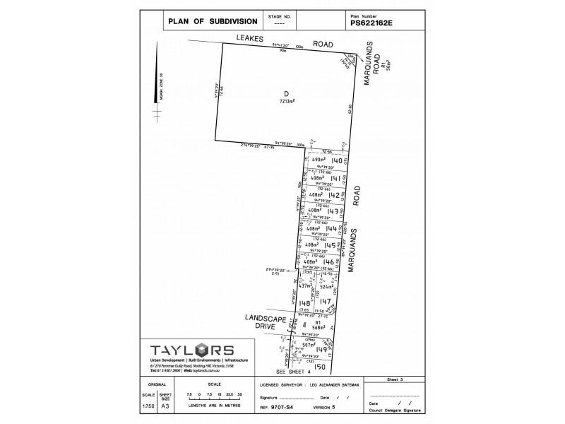 Lot 157 Marquands Road, Truganina VIC 3029