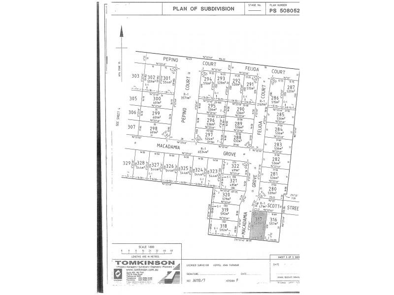 13 (Lot 317) Scott Street, Werribee VIC 3030