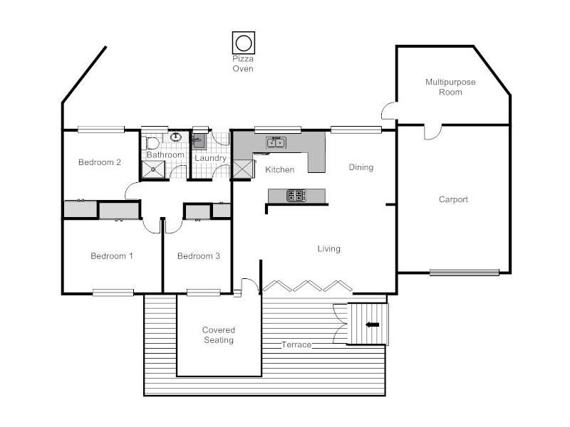 1/103 Bandjalong Crescent, Aranda ACT 2614 Floorplan