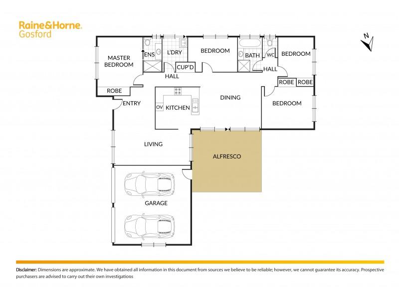 9 Jarrah Court, Ourimbah NSW 2258 Floorplan