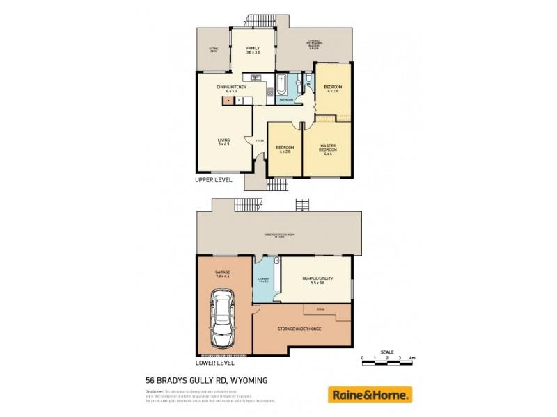 56 Bradys Gully Road, North Gosford NSW 2250 Floorplan