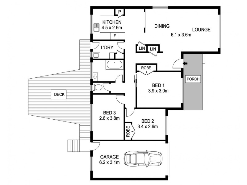 8 Lee Street, Port Macquarie NSW 2444 Floorplan