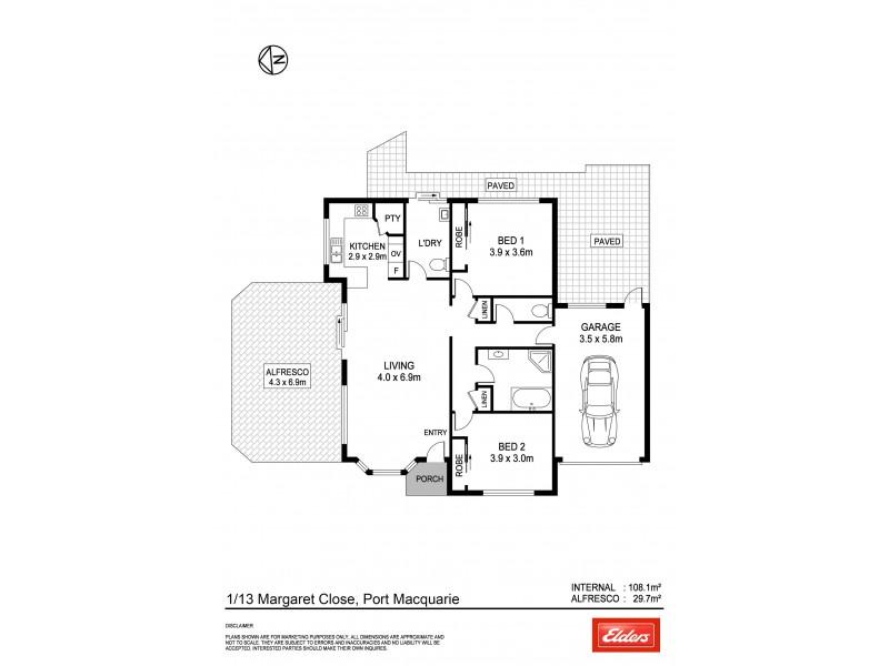 1/13 Margaret Close, Port Macquarie NSW 2444 | Elders Real Estate