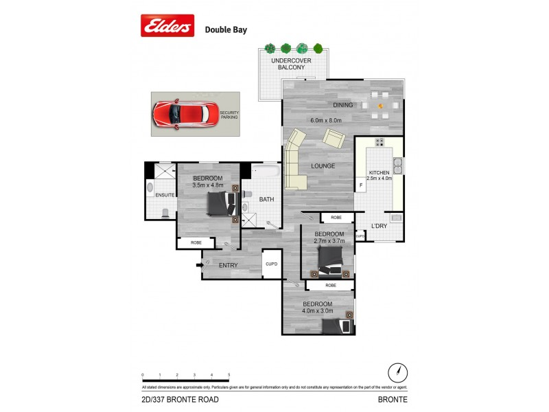 2D/337 Bronte Road, Bronte NSW 2024 Floorplan