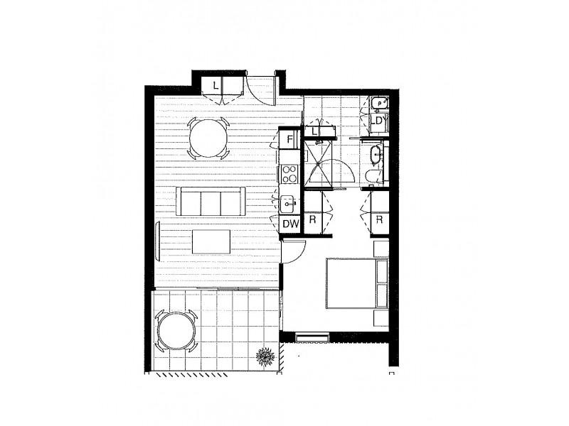 808/109 Oxford Street, Bondi Junction NSW 2022 Floorplan