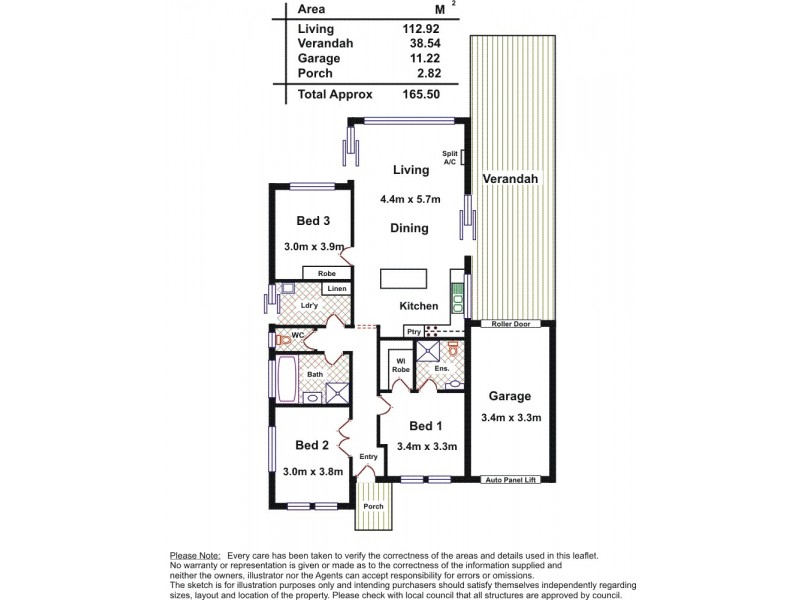 22 West Parkway, Andrews Farm SA 5114 Floorplan