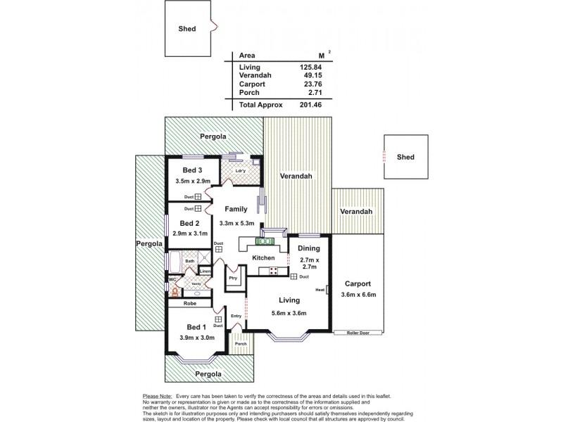 9 Blair Park Drive, Craigmore SA 5114 Floorplan