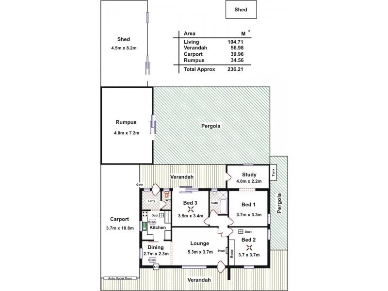 29 Searle Road, Davoren Park SA 5113 Floorplan