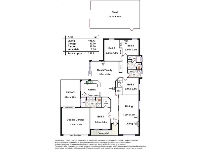Lot 70 Angle Vale Road, Angle Vale SA 5117 Floorplan