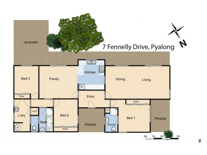 7 Fennelly Drive, Pyalong VIC 3521 Floorplan