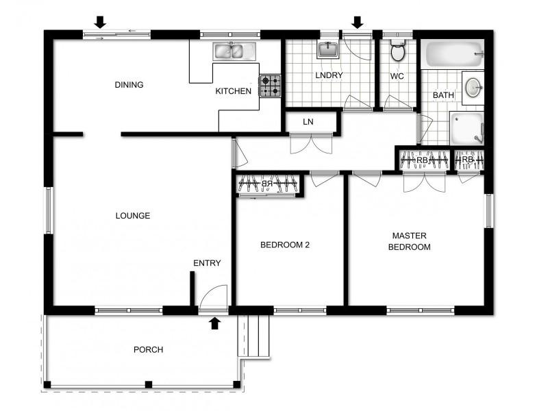 8/2 Lazarus Crescent, Queanbeyan NSW 2620 Floorplan