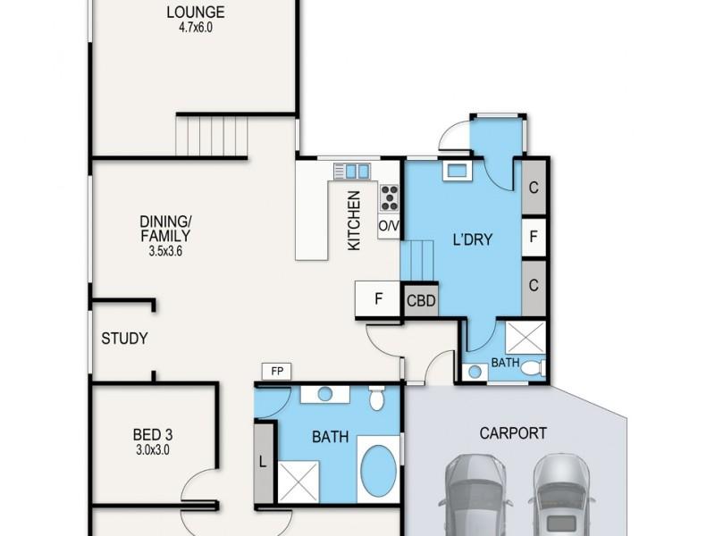 54 Hazel Road, Kalimna VIC 3909 Floorplan