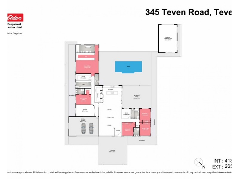 345 Teven Road, Teven NSW 2478 Floorplan