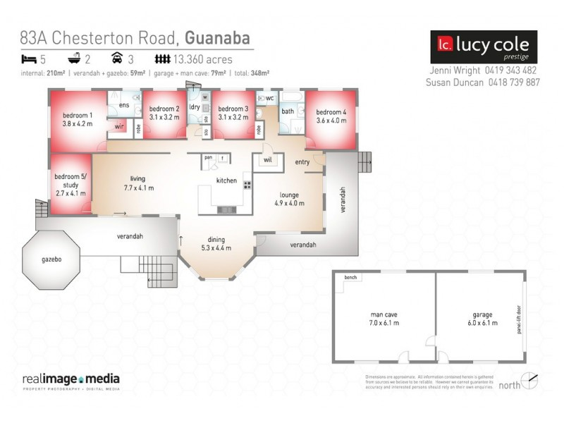 83A Chesterton Road, Guanaba QLD 4210 Floorplan