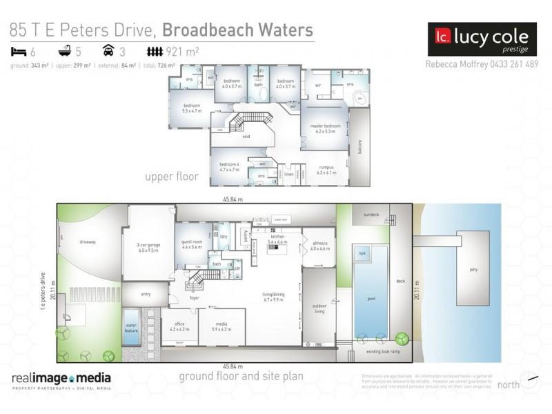 85 T E Peters Drive, Broadbeach Waters QLD 4218 Floorplan