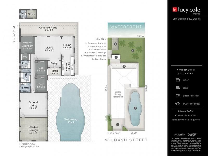 7 Wildash Street, Southport QLD 4215 Floorplan