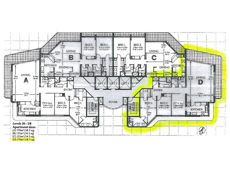 Main Beach QLD 4217 Floorplan