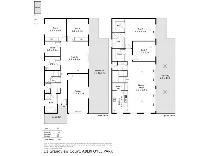 11 Grandview Court, Aberfoyle Park SA 5159 Floorplan