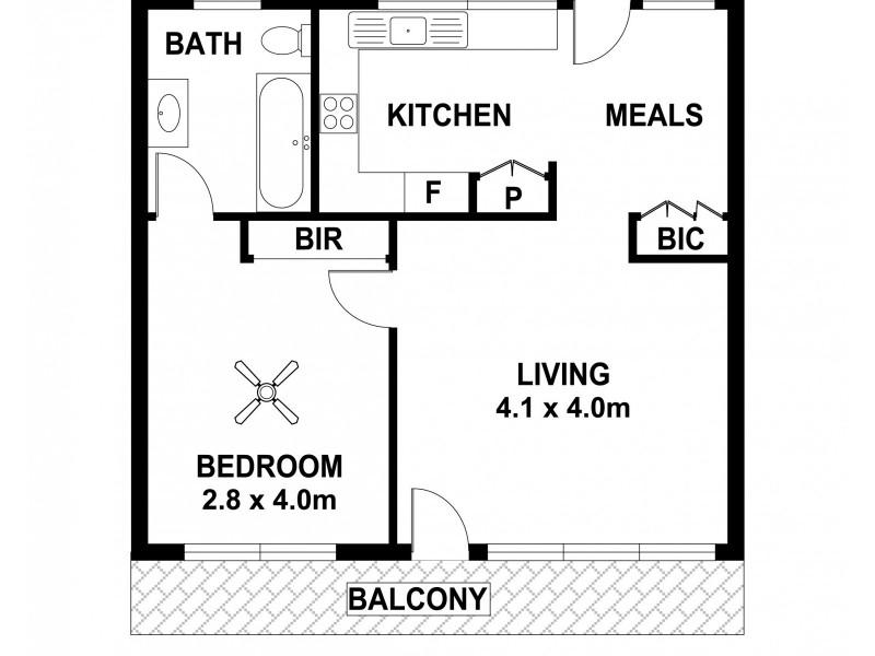 7/36 Military Rd, West Beach SA 5024 Floorplan