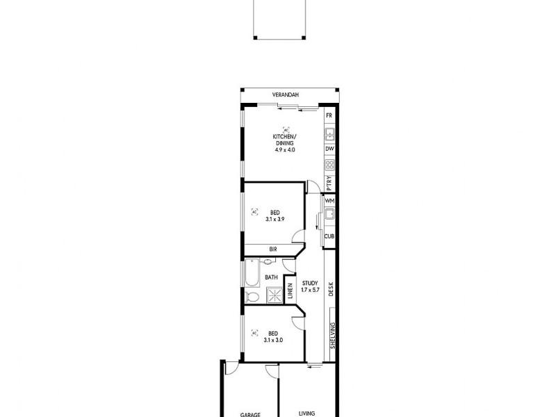 5 Carlisle Avenue, Morphettville SA 5043 Floorplan