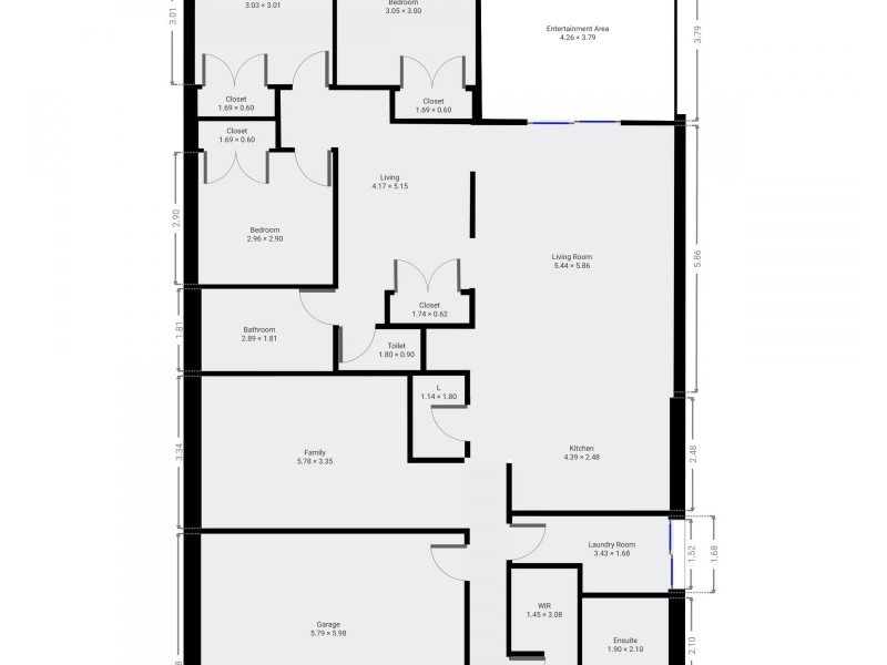 13 Magnolia Drive, Echuca VIC 3564 Floorplan
