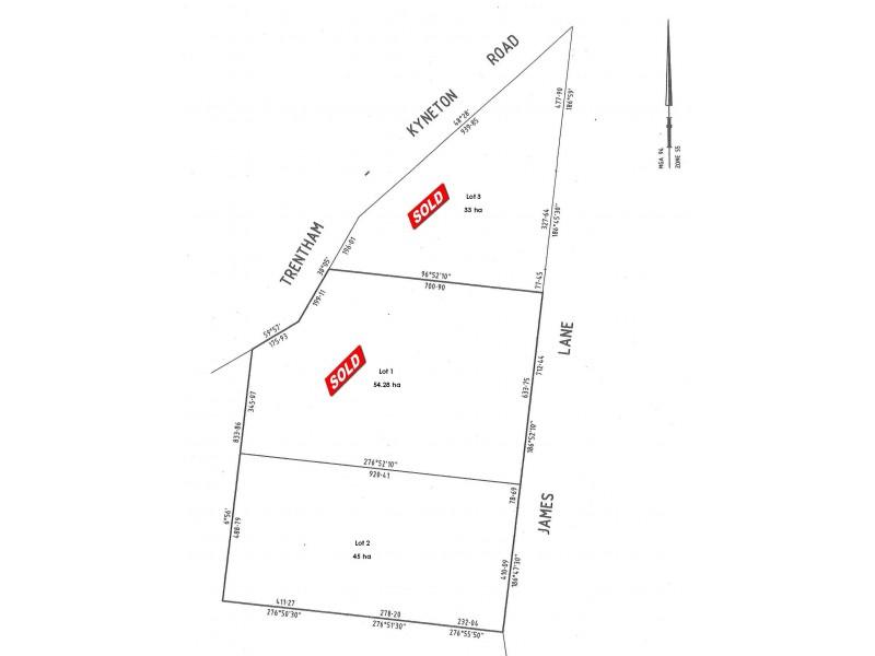 52 James Lane, Tylden VIC 3444 Floorplan