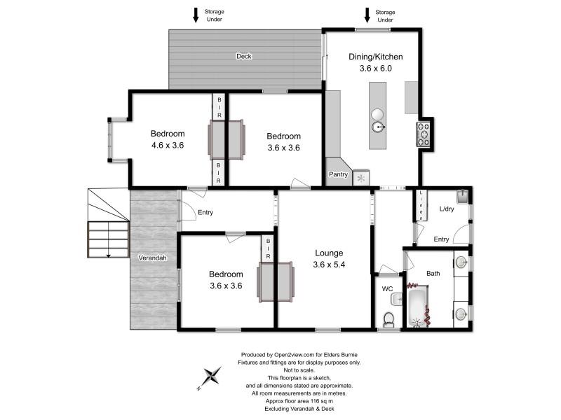 6 Reid Street, Upper Burnie TAS 7320 Floorplan