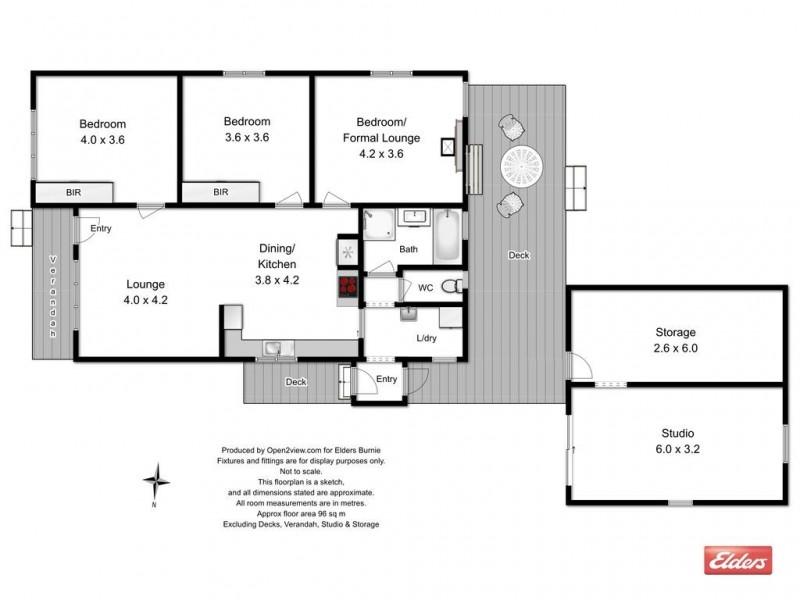 102 Mooreville Road, Shorewell Park TAS 7320 Floorplan