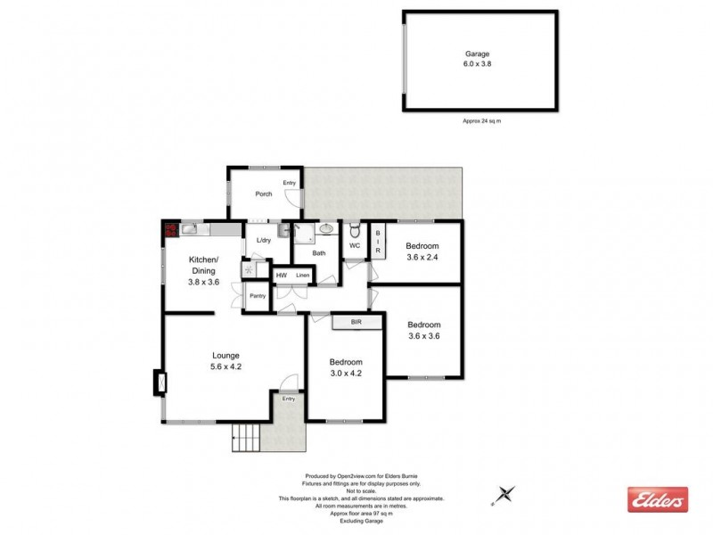 39 Griffith Street, Acton TAS 7320 Floorplan