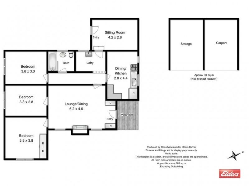 10 Giblin Street, Rosebery TAS 7470 Floorplan