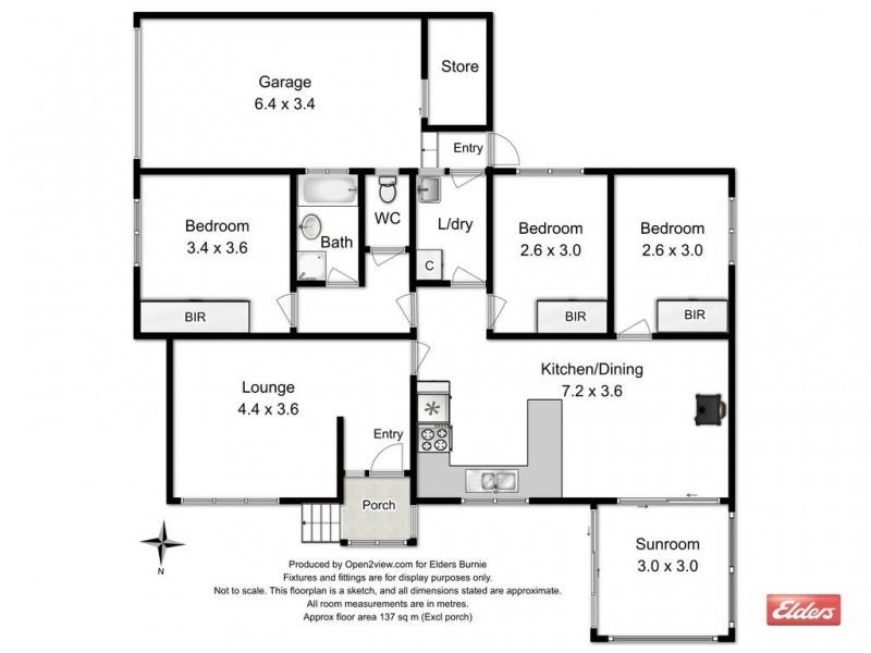 4 Parkinson Street, Zeehan TAS 7469 Floorplan