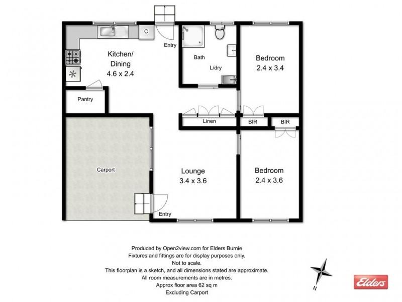 3/80A Saunders Street, Wynyard TAS 7325 Floorplan