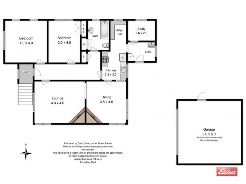 70 Bird Street, Montello TAS 7320 Floorplan