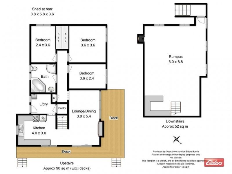60 Cardigan Street, Somerset TAS 7322 Floorplan