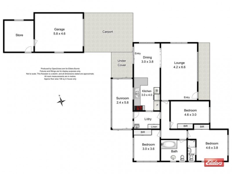1B Wilkinson Street, Wynyard TAS 7325 Floorplan