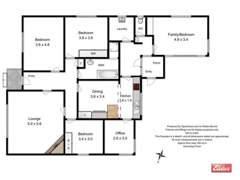 18 Jackson Street, Wynyard TAS 7325 Floorplan