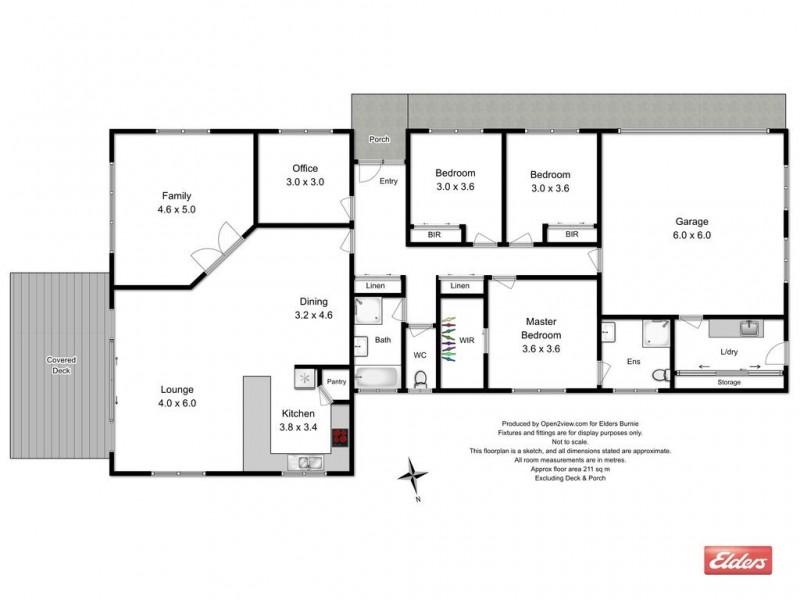 90 Brickport Road, Park Grove TAS 7320 Floorplan