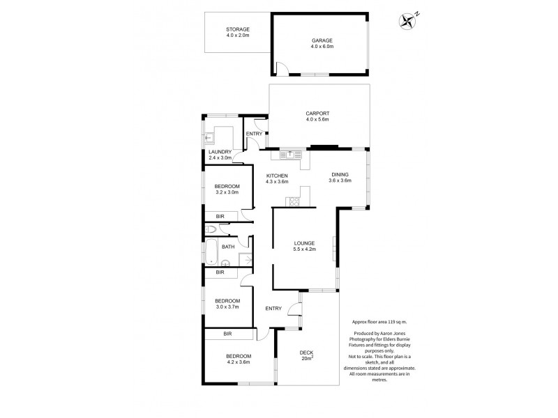 30 West Park Grove, Park Grove TAS 7320 Floorplan