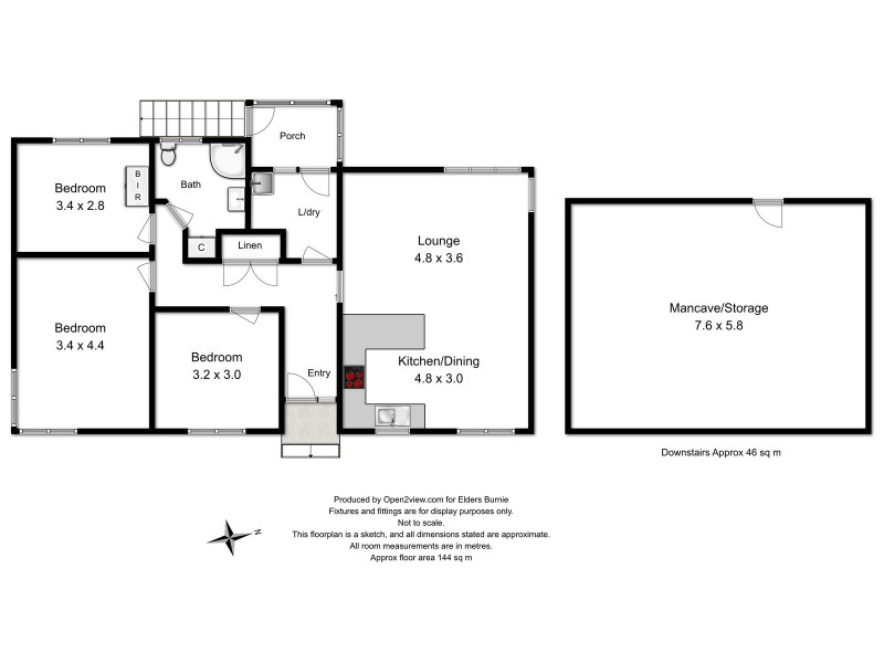 128 Payne Street, Acton TAS 7320 Floorplan