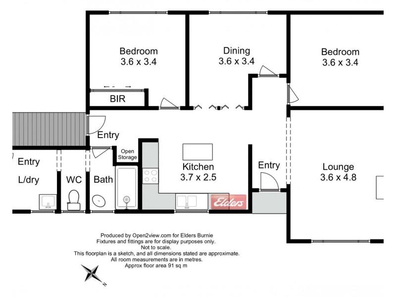 17 Nankivell Street, Queenstown TAS 7467 Floorplan