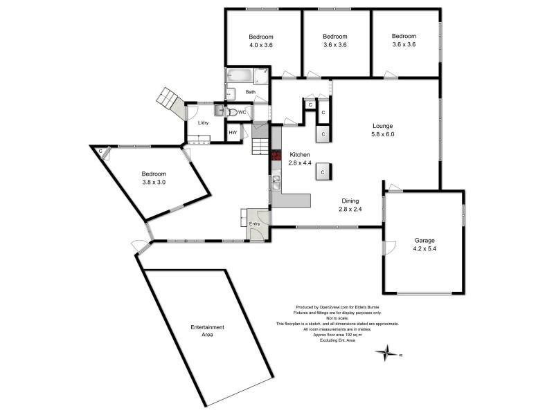 8 Haig Street, Heybridge TAS 7316 Floorplan