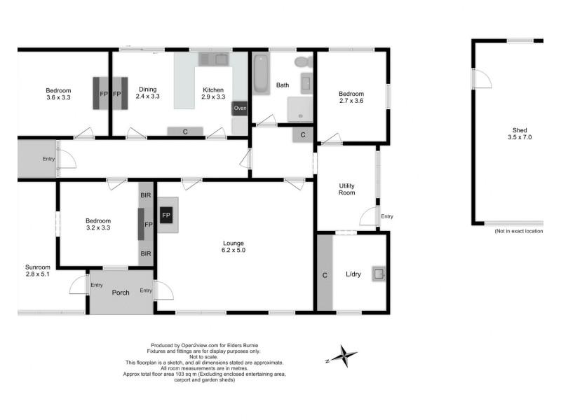 2 Ironcliffe Court, Penguin TAS 7316 Floorplan