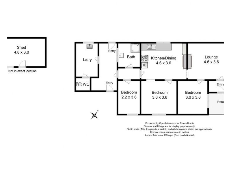 5 Bury Street, Queenstown TAS 7467 Floorplan