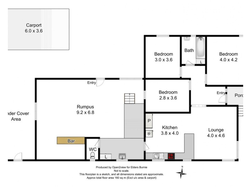 17 Hollywood Street, Rosebery TAS 7470 Floorplan