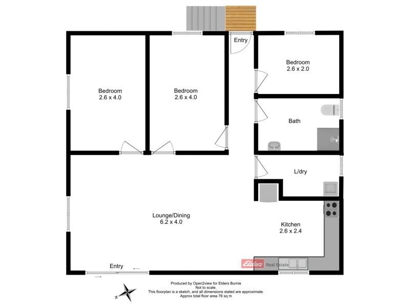 4/15 Gellibrand Street, Zeehan TAS 7469 Floorplan