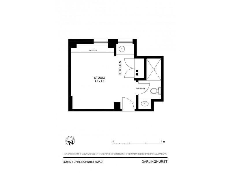 309/221-223 Darlinghurst Road, Darlinghurst NSW 2010 Floorplan