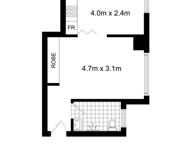 15/20-22 Springfield Avenue, Potts Point NSW 2011 Floorplan